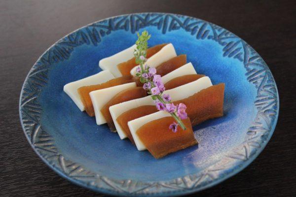 奈良漬とチーズ